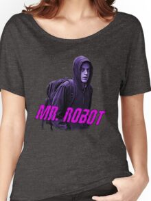 Mr.Robot's Club Women's Relaxed Fit T-Shirt