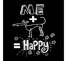 The Happiness Equation Photographic Print