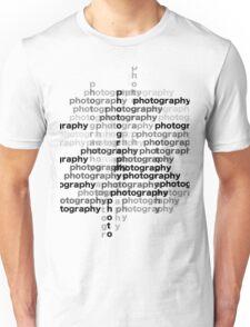 Photography text_03 T-Shirt