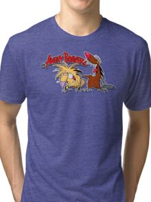 smille Angry Beavers Tri-blend T-Shirt