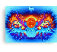 ESCAPE FROM THE SUN Canvas Print