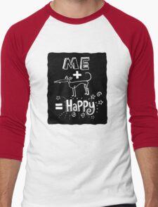 The Happiness Equation Men's Baseball ¾ T-Shirt