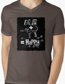 The Happiness Equation Mens V-Neck T-Shirt