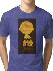 charlie brown zigzag art Tri-blend T-Shirt