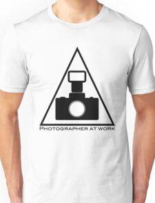 Photographer at work T-Shirt