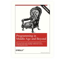 Programming in Middle Age and Beyond Art Print