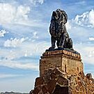 Lion on Grotto Hill by Larry Costales