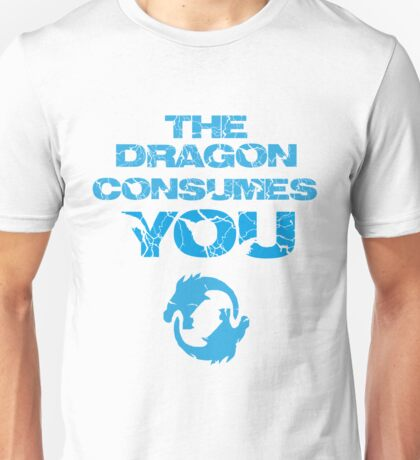 The dragon consumes you! Unisex T-Shirt