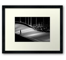 concrete_only 07 Framed Print