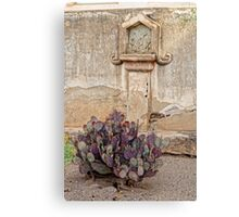 Nopal at Station Of The Cross Canvas Print