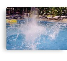 SPLASH 3 Canvas Print