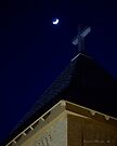 Cross and Crescent Moon by Larry3