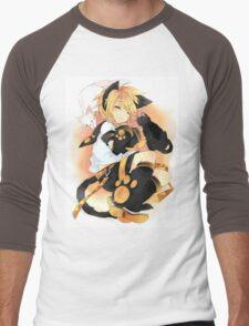 Kagamine Len Men's Baseball ¾ T-Shirt