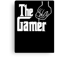 The Gamer Godfather T Shirt Canvas Print