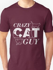 Crazy Cat T Shirt Mens Men Can Ladies Too Funny Guys Cats Tee New Animal Kitten Meow Present T-Shirt