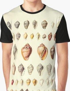 Thesaurus conchyliorum Monographs of genera of shells George Brettingham Sowerby 1887 V1-V5 076 Graphic T-Shirt