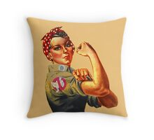 Ghostbusters quotes Throw Pillow