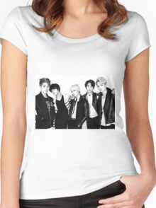 Shinee's Back! Women's Fitted Scoop T-Shirt