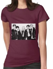 Shinee's Back! Womens Fitted T-Shirt