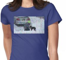 16 00887 0 x old master Womens Fitted T-Shirt