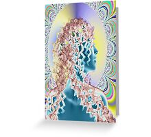 PSYCHEDELIC NEW ROMANTIC Greeting Card