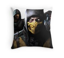 Mortal Kombat X Throw Pillow