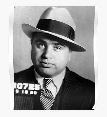 Al Capone Mafia Portrait Poster