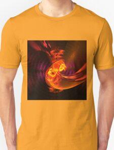 Fiery swirl Unisex T-Shirt