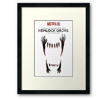 Hemlock grove affiche saison 2 Framed Print