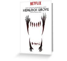 Hemlock grove affiche saison 2 Greeting Card