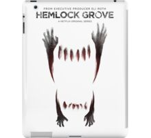 Hemlock grove affiche saison 2 iPad Case/Skin