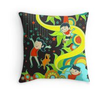 children of the heaven Throw Pillow