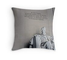 Lincoln Throw Pillow