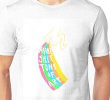 MAKE SHIT TONS OF ART Unisex T-Shirt