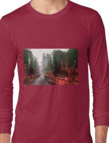 "INSAMNIA's ""Red Thorn Pass"" Long Sleeve T-Shirt"