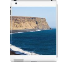 Black Basalt Beach at Vik iPad Case/Skin