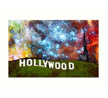 Hollywood 2 - Home Of The Stars By Sharon Cummings Art Print