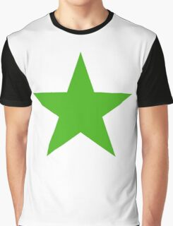 GREEN, STAR, Environment, Environmentalist, Ecology, Eco, Nature, Green, Graphic T-Shirt