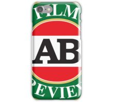 AB Film Review Logo 2 iPhone Case/Skin