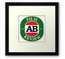 AB Film Review Logo 2 Framed Print