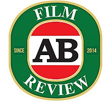 AB Film Review Logo 2 Photographic Print