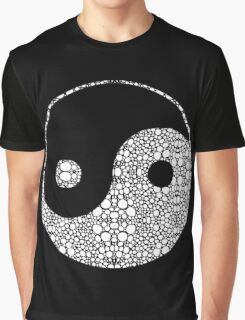 Perfect Balance 2 - Yin and Yang Stone Rock'd Art by Sharon Cummings Graphic T-Shirt