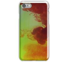 Colourful ink water photography  iPhone Case/Skin