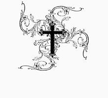 GOTHIC, GOTH, GRUNGE, CROSS, Vine, Christian, Crucifix, VAMPIRE Unisex T-Shirt