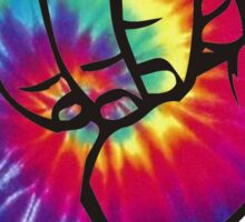 Bright Tie Dye Shaka Sticker