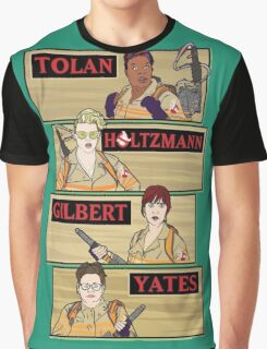 Tolan, Holtzman, Gilbert, Yates Graphic T-Shirt