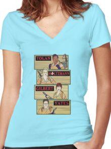 Tolan, Holtzman, Gilbert, Yates Women's Fitted V-Neck T-Shirt