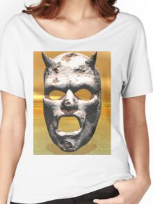 MASK OF STONE Women's Relaxed Fit T-Shirt