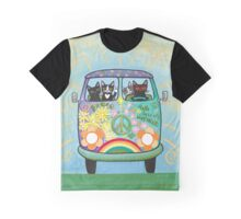 Hippie Cats Road Trip! Graphic T-Shirt
