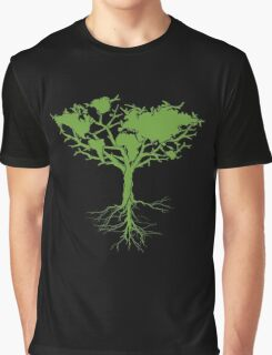 Earth Tree Graphic T-Shirt